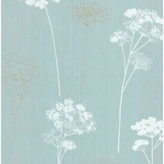 Dulux Meadowsweet Wallpaper - Teal from Homebase.co.uk