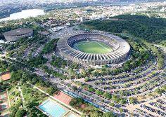 Estádio Governador Magalhães Pinto (Mineirão) - Belo Horizonte (MG) - Capacidade: 62 mil - Clube: Cruzeiro