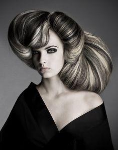 Avant garde hair by Darren Ambrose.