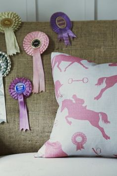 With its sophisticated equestrian theme Gymkhana is every horse and pony lovers dream The print features stylish silhouettes of jumping horses and