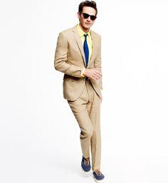 Linen suit | April 2013
