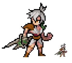 Sprite - League of Legends - Riven by Eviscus.deviantart.com on @deviantART