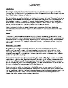lab safety worksheet lee keller school pinterest labs lab safety and worksheets. Black Bedroom Furniture Sets. Home Design Ideas