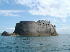Saint-Malo, le Fort de la Conchée.