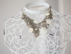 Eclectic Collar / bib style Necklace
