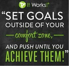 This is way out of my comfort zone, but I took a chance and love it! This is a great company with great products that actually work! Love what I do! www.theresaarnold5.myitworks.com