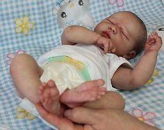 Beautiful Reborn Baby Doll ~ Summer Rain Asleep ~  Sam's Reborn Nursery ~