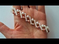 How to make 10 minutes bracelet. DIY beaded bracelet - YouTube