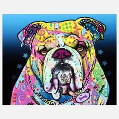 Bulldog, $17.50, now featured on Fab.
