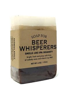 Soap for Beer Whisperers - Whiskey River Soap Co.
