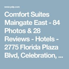 Comfort Suites Maingate East - 84 Photos & 28 Reviews - Hotels - 2775 Florida Plaza Blvd, Celebration, Kissimmee, FL - Phone Number - Yelp