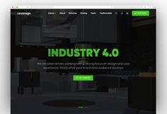 Leverage - Creative Agency & Portfolio WordPress Theme User Experience, Wordpress Theme, Templates, Popular, Creative, Stencils, Vorlage, Popular Pins, Models