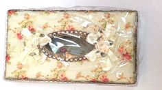 Fabric elegant tissue box cover made from fabric Multi Color decor #HomeStyle