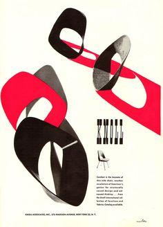 Herbert Matter Knoll Advertisement | Knoll Inspiration