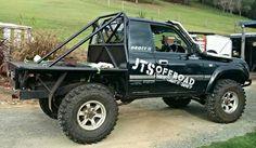 Comp truck Landcruiser Ute, Landcruiser 80 Series, Land Cruiser Fj80, Toyota Land Cruiser, Toyota Trucks, Jeep 4x4, Jeeps, Rigs, Race Cars