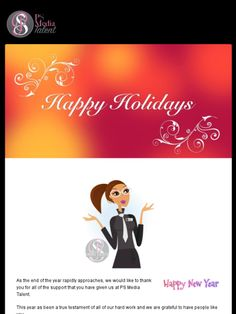 #HappyHolidays from #psmediatalent Check out this Mad Mimi newsletter