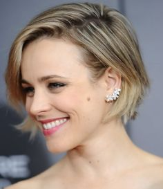 "Rachel Mcadams at the ""Southpaw"" Premiere, new York July, Short Hairstyles 2015, Fringe Hairstyles, Celebrity Hairstyles, Cool Hairstyles, Julianne Hough Short Hair, Short Hair Cuts, Short Hair Styles, Pelo Pixie, Hair Loss Women"