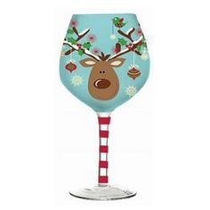 71 Best Holiday Wine Glasses images | Christmas wine ...