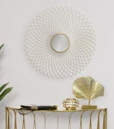 Oglinda decorativa de perete cu design modern Eclipse D99.5cm Mirror, Modern, Furniture, Design, Home Decor, Trendy Tree, Decoration Home, Room Decor, Mirrors