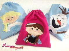 Elsa, Anna e Olaf, de Frozen