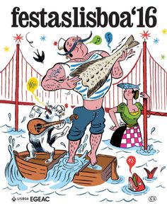 With a whiff of summer in the air, the Festivities of Lisbon offer a full program of entertainment activities that will invade Lisbon's olde. June 30, Portugal Travel, Woodland Party, My Heritage, Vintage Posters, The Neighbourhood, About Me Blog, Kids Rugs, Entertaining