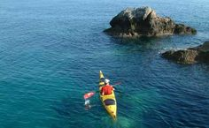 Sea kayaking around Kolocep Island, exploring the shore and blue caves. Kolocep Island is located near Dubrovnik and we run these trips as part of our multiday programs in Dubrovnik area: http://www.huckfinncroatia.com/adventure-trips-croatia.php