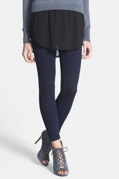 HUE - Denim Legging at Nordstrom Rack. Free Shipping on orders over $100.