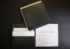 embossed wedding invitations | visit papersofdistinction com