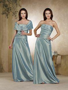 Flat Green Ruffles Floor Length Elegant Matching Shawl Mother Of Brides Dress