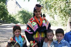 In the fields of Kalash Valley