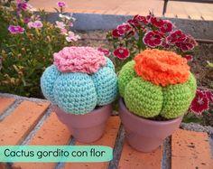 ¡Buenas tardes señores! Por petición popular, al final no me he podido resistir a haceros el vídeotutorial de estos cactus tan gordis y tan majos que tanto os gustan. De verdad que no tienen ningún mi