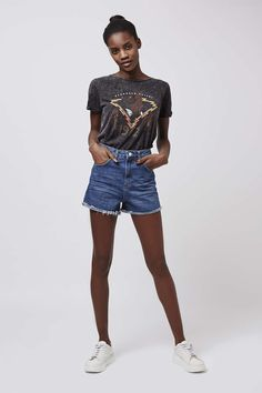 MOTO Vintage Girlfriend Short - Topshop