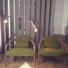 Coup de cœur pour ces fauteuils Roche Bobois de la collection fifty-fifty #ddays #ddays15 #instadeco #design #rochebobois