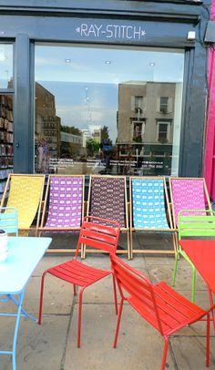 Ray Stitch fabric shop in Islington