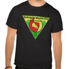 DeAngelis Martial Arts Green Tshirt