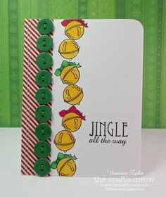 """I created this card using The Craft's Meow """"Hearth and Home"""" stamp set."""