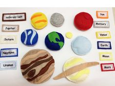 Solar System Quiet Book by SewSmartHome on Etsy