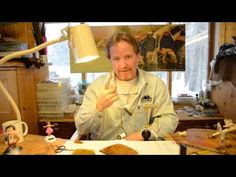 ▶ Spinning and Setting Deer Hair with Kelly Galloup - YouTube