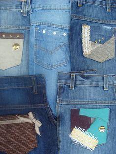 Customizando jeans à sua maneira - CostureBem.com.br
