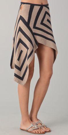 crochet skirt - pic 1 - JEN KAO - коллекция весна-лето 2012. . Обсуждение на LiveInternet - Российский Сервис Онлайн-Дневников