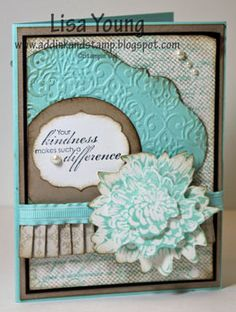 Stampin' Up! Card  by Lisa Young at Add Ink and Stamp