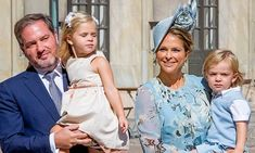 Congratulations are in order for Princess Madeleine of Sweden and her husband Chris O'Neill!