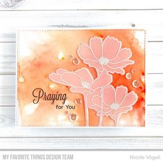 Make the Flowers in Bloom Card Kit — Featuring *Exclusive* Color Burst – MFT Stamps Blooming Flowers, Love Flowers, Mft Stamps, Card Kit, Clear Stamps, Banner Design, Your Cards, Something To Do, My Favorite Things