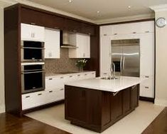 kitchen island with sink at end - Google Search