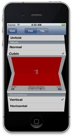 Custom iPhone UIs including code