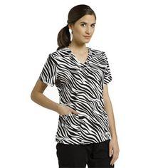 funki zebra, print top, zebra print