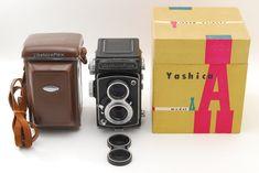 [MINT]Yashicaflex model A (New A) Yashikor 80mm F3.5 from Japan#282-32111014 #Yashica