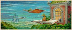 Randal Spangler, adventures in reading