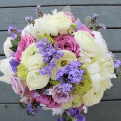 For the #bride shades of lavender green and ivory roses ranunculus and peonies!  #thefloralcottageflorist #springwedding #louisianabride #louisianaweddings #nolawedding #ascensionweddings #lavenderroses #lavenderandgreen #bridalbouquet #2017bride #justengaged #bridetobe