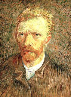 Vincent van Gogh Self-Portrait Oil on canvas. 47 x 35.5 cm.  1887, De la Faille 366.  Self-Portrait Oil on canvas. 47 x 35.5 cm. 1887, De la Faille 366.